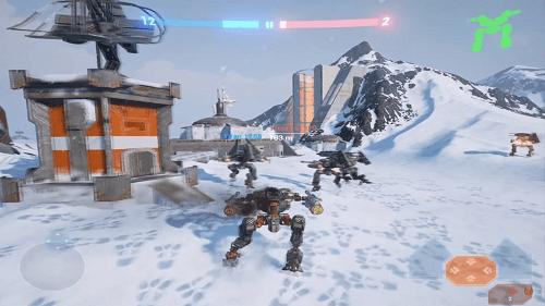 Battle of Titans - Game Đại chiến Robots B O T khủng trên