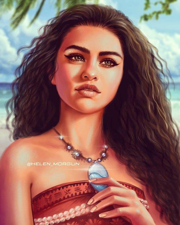 Selena Gomez vai Moana