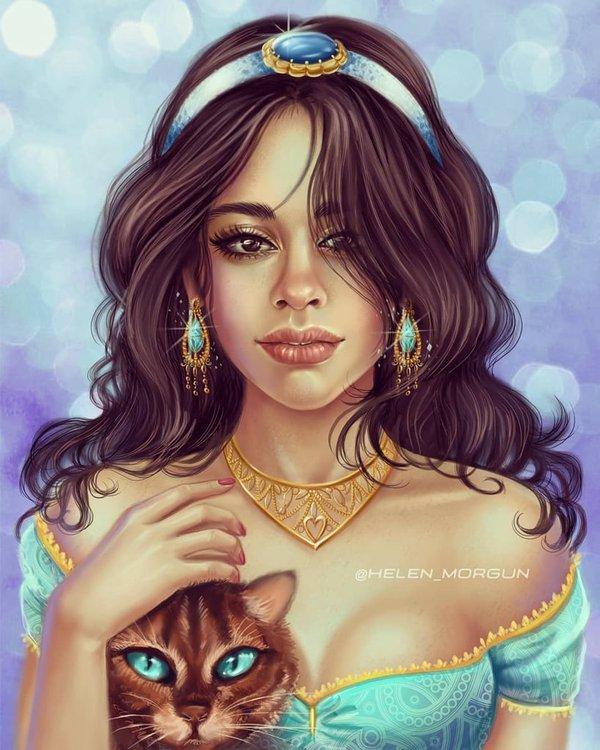 Camila Cabello hóa thân thành  Jasmine