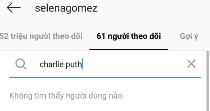 Kết quả hình ảnh cho Charlie Puth, Selena Gomez đã thẳng tay unfollow