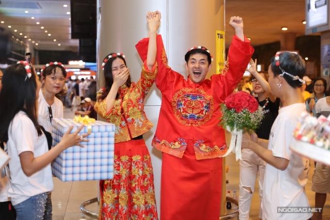 Đông Nhi - Ông Cao Thắng tổ chức đám cưới ở sân bay - 4