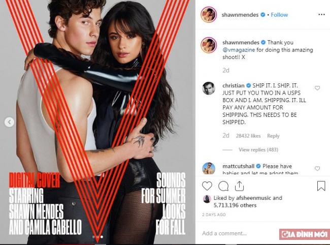 Shawn Mendes và Camila Cabello