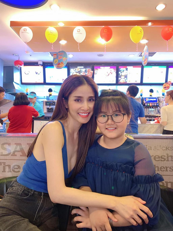 Con gai mum mim cua Thao Trang va Phan Thanh Binh hinh anh 1