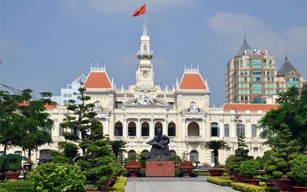 Ảnh đẹp công viên ở Sài Gòn