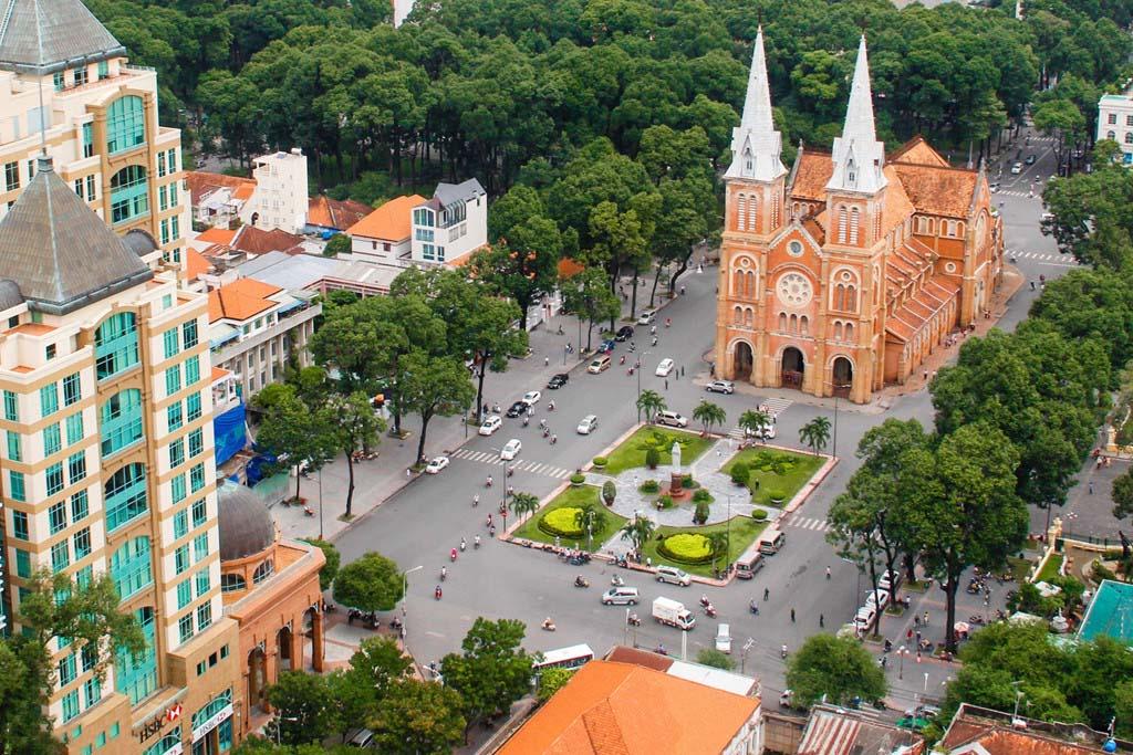Ảnh đẹp một góc Sài Gòn ban ngày