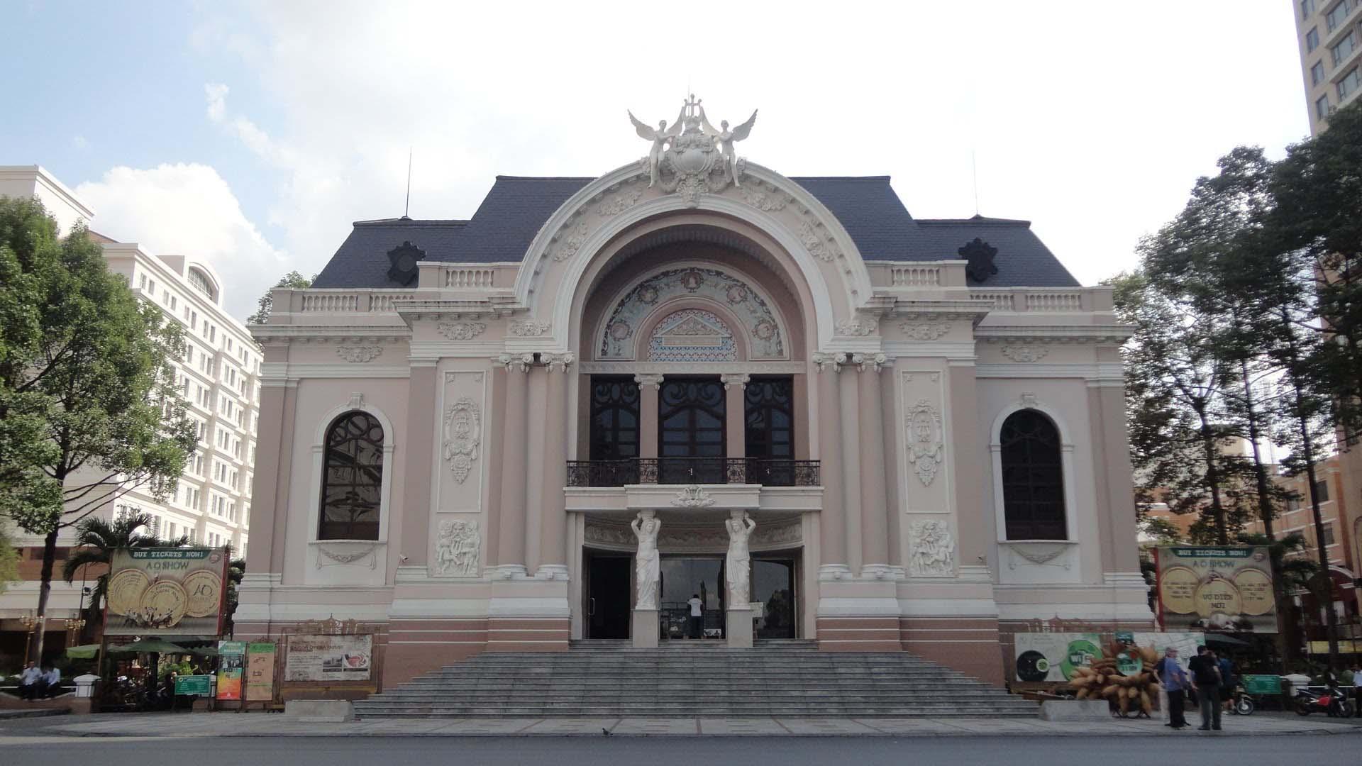 Ảnh đẹp nhà hát hớn Sài Gòn