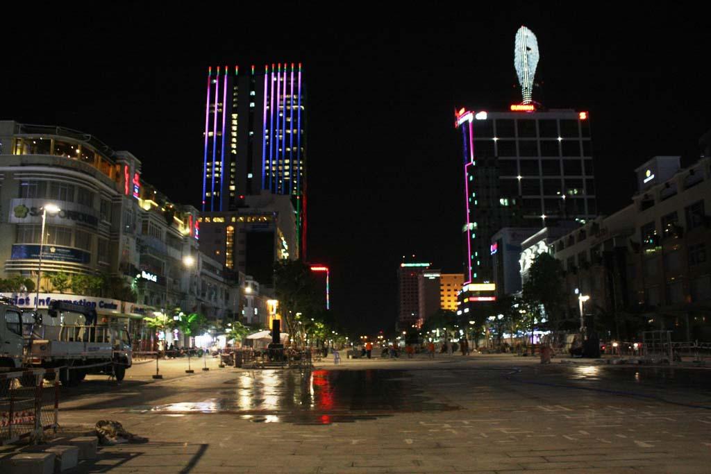Ảnh đẹp phố đêm Sài Gòn