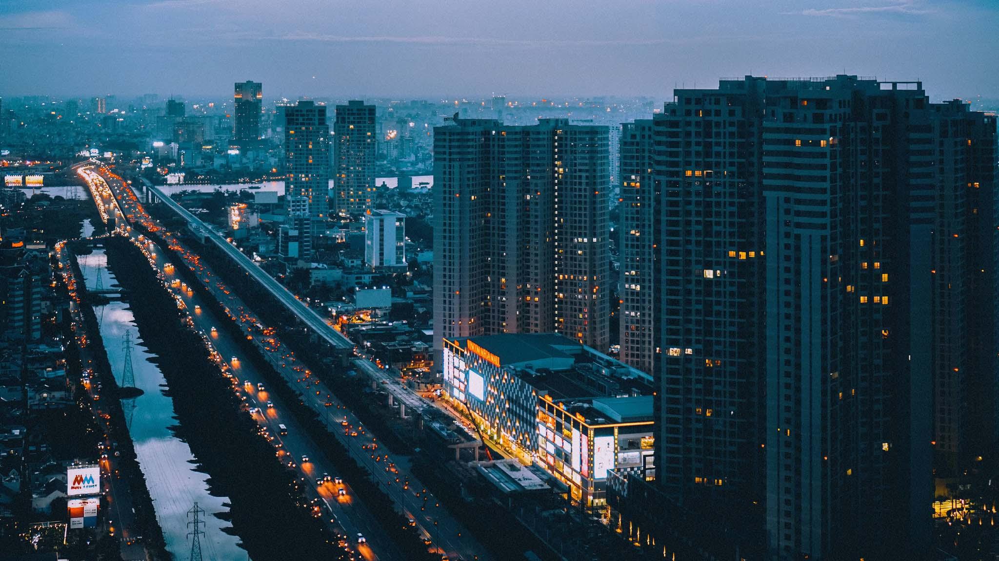 Ảnh đẹp Sài Gòn xế chiều