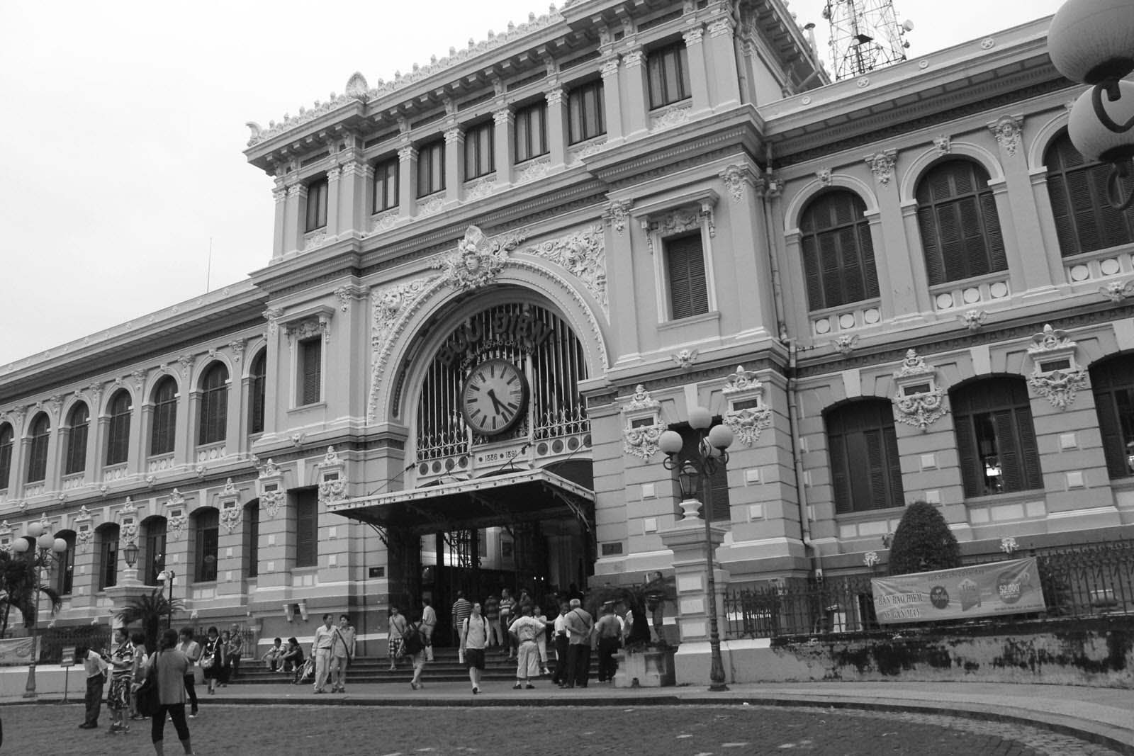 Hình ảnh bưu điện Sài Gòn xưa