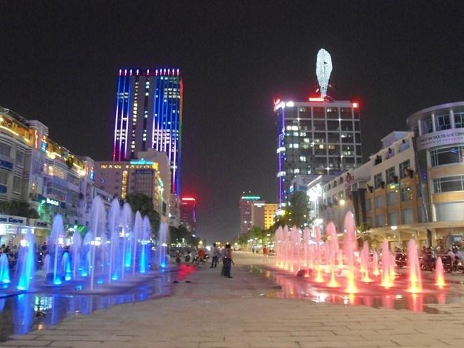 Hình ảnh dàn nhạc nước độc đáo ở Sài Gòn