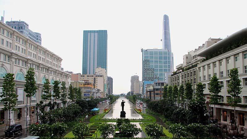 Hình ảnh đẹp về Sài Gòn ban ngày