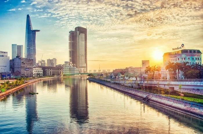 Hình ảnh đẹp về Sài Gòn nắng sớm