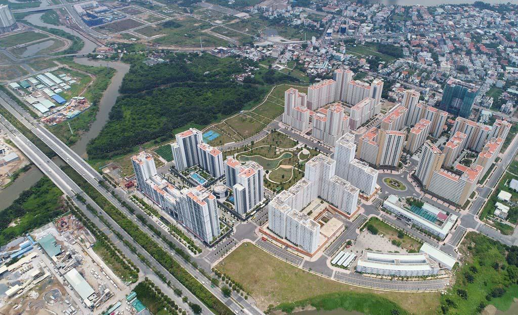 Hình ảnh đẹp về Sài Gòn-Thủ Thiêm nhìn trên cao