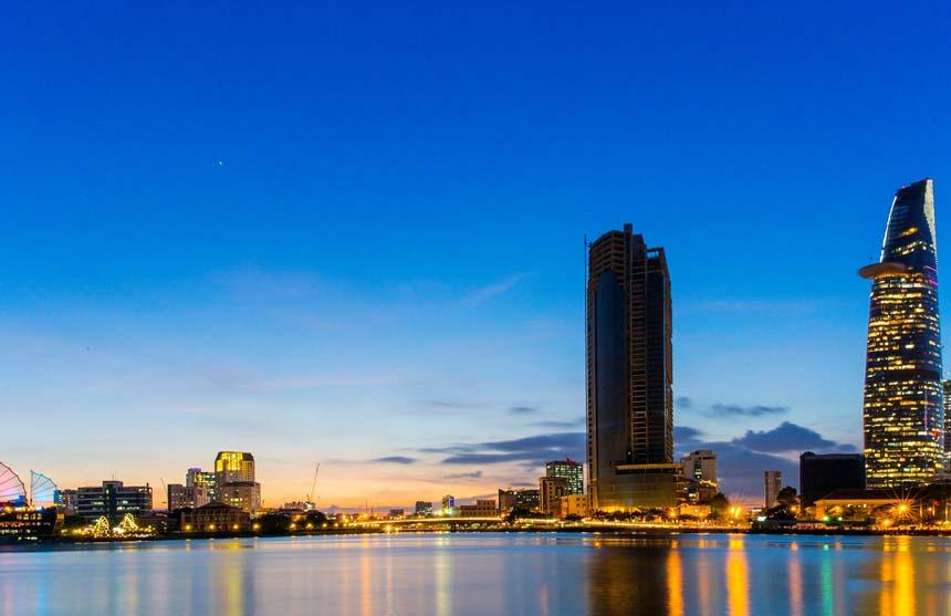 Hình ảnh đẹp về Sài Gòn xế chiều