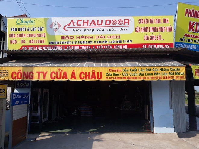 Cua cuon A Chau khai truong cua hang moi tai Long An hinh anh 1 image001_3.jpg