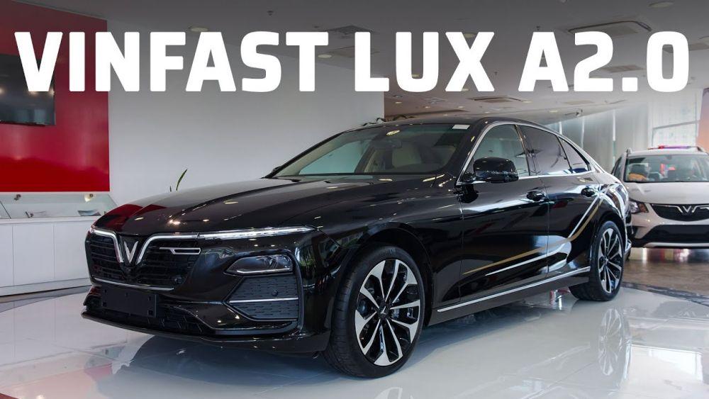 Đường nét của Vinfast Lux A2.0 được thiết kế sang trọng