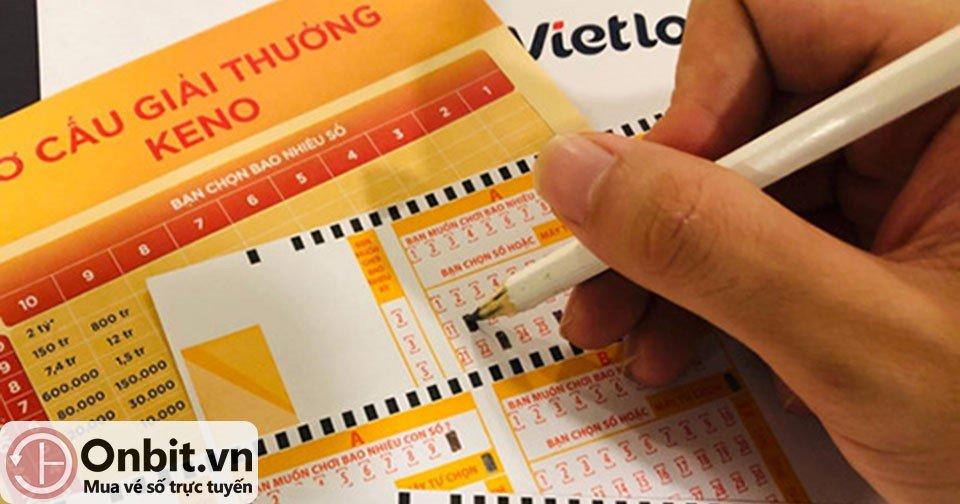 1 vietlot keno - Ứng dụng, website top 1 mua Vietlott trực tuyến gọi tên Onbit