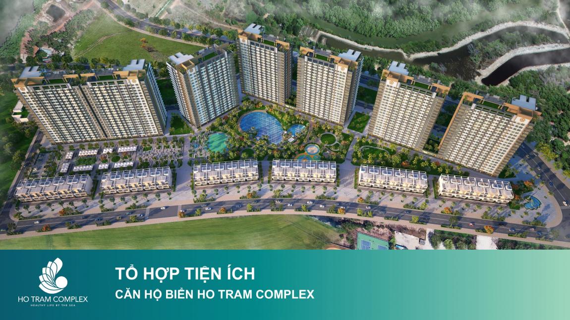 tiện ích dự án căn hộ hồ tràm complex 1