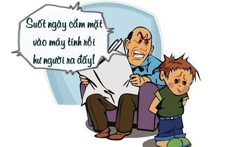 """Sáng cười: Trẻ con """"đau đầu"""" trước lý luận của người lớn"""