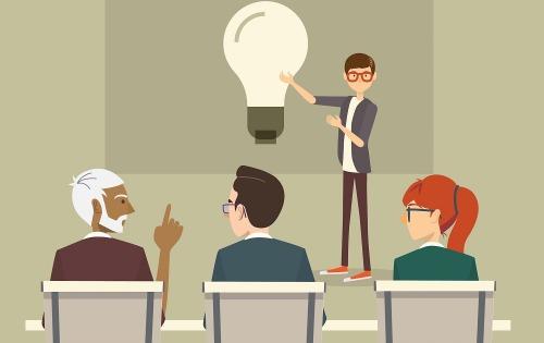 Bảy cách giữ bình tĩnh trước buổi thuyết trình quan trọng - VnExpress