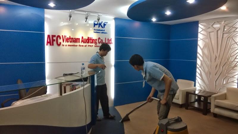 Bảng Giá Dịch vụ vệ sinh Nhà ở Nha Trang, Vệ sinh nhà mới xây | Sakura