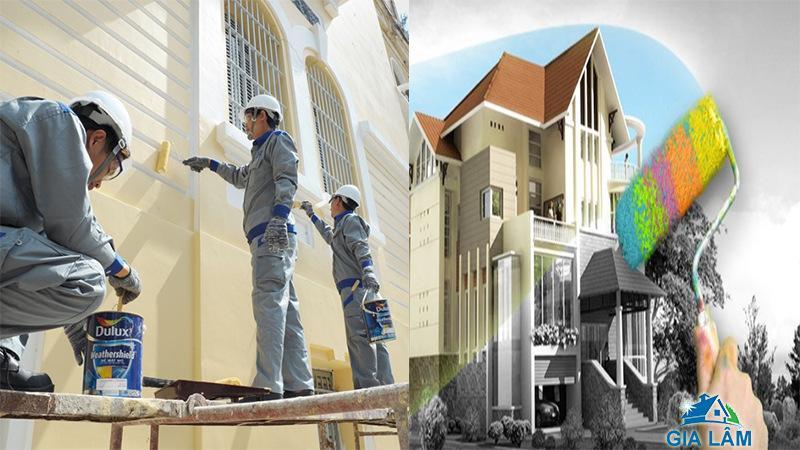 Dịch vụ sơn nhà tại tphcm - Giá rẻ đẹp và chuyên nghiệp