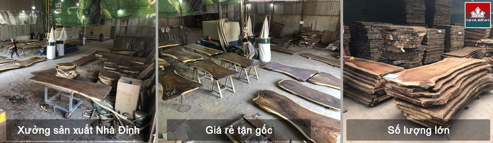 Nhà Đỉnh nhận gia công gỗ