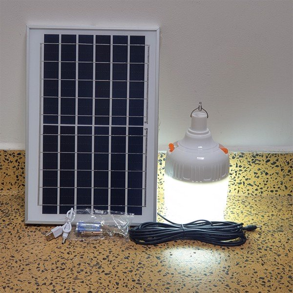 Đèn Bulb Led Năng Lượng Mặt Trời 90W JD90 Solar Light Pin 8000 mAh Sạc Điện  Thoại, Tiết kiệm điện, bền bỉ theo thời gian - Đèn ngoài trời Hãng OEM    NoiThatThanhDo.com
