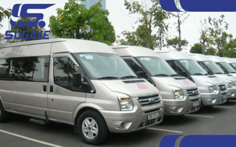 Hình ảnh xe du lịch 16 chỗ tại thuexengay.com