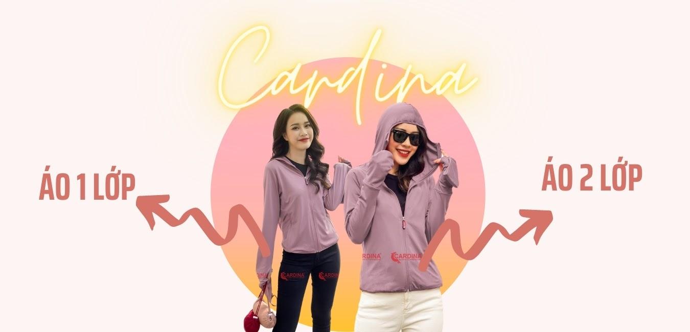 Áo chống nắng nữ Cardina Nhật bản