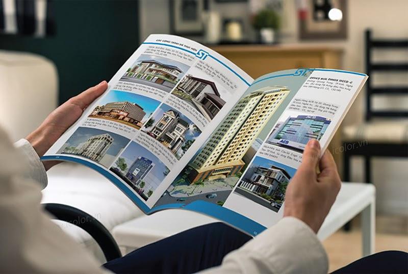 Nhu cầu in catalogue khá phát triển tại Hà Nội