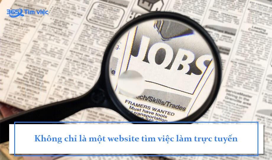 Là một website tìm việc làm trực tuyến