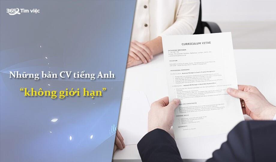CV không giới hạn