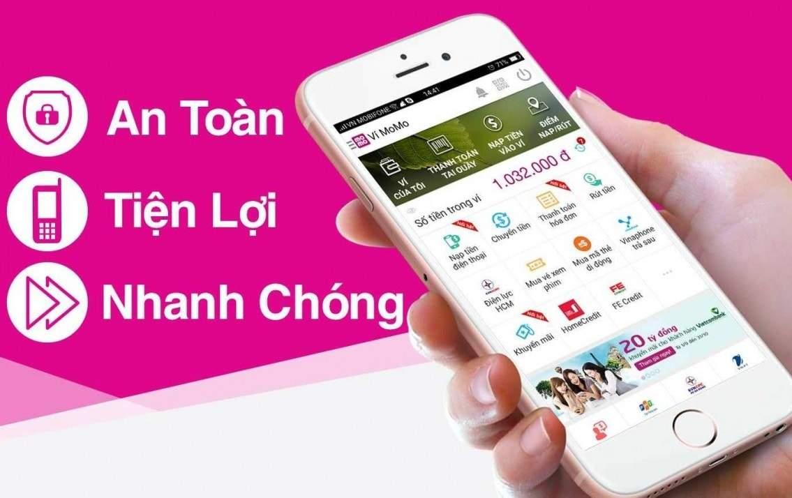 Ví điện tử Momo - Phương tiện thanh toán siêu tiện lợi - Onlinebank