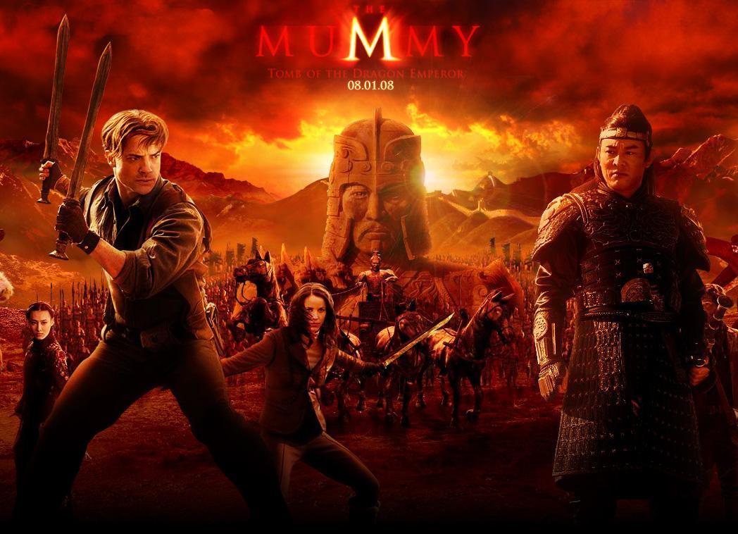 Poster phim the mummy 3