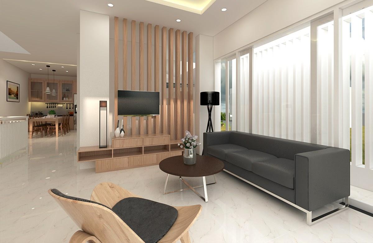 Chú trọng vào ánh sáng và màu sắc trong thiết kế phòng khách
