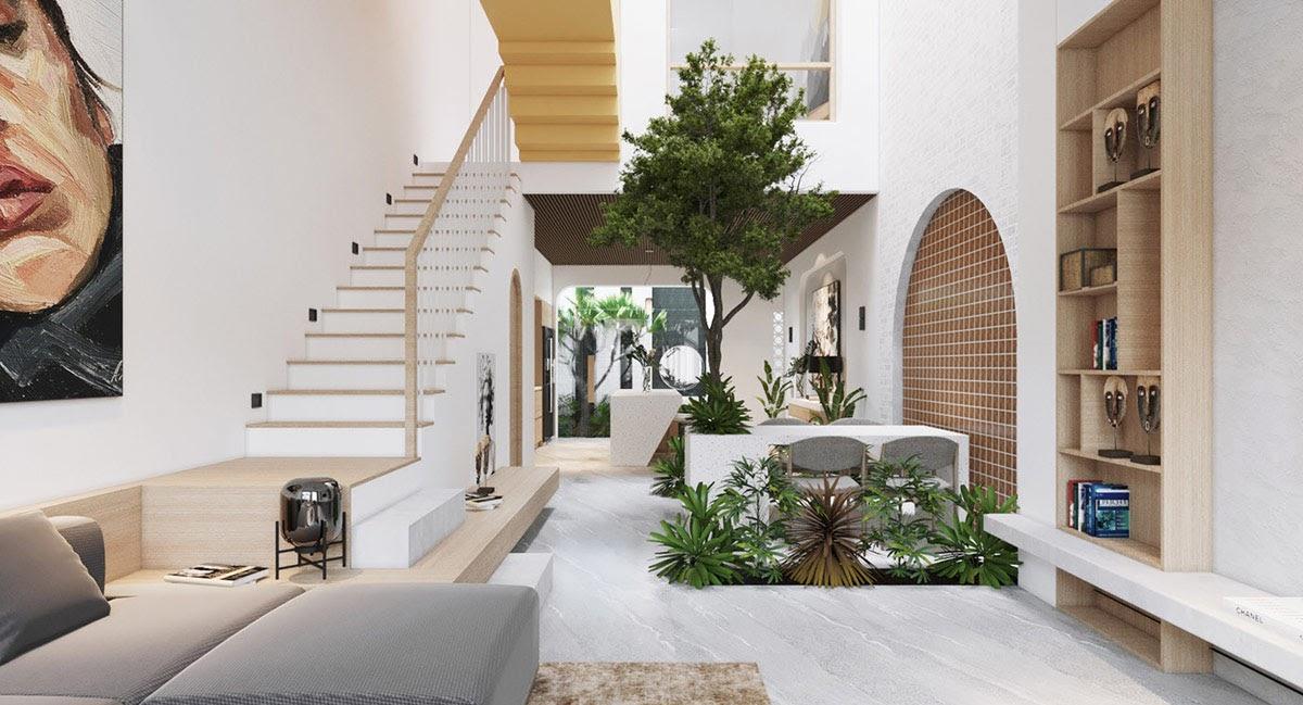 Xác định diện tích phòng khách trước khi bắt tay vào thiết kế