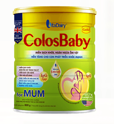 Lợi ích từ ColosBaby Gold for Mum
